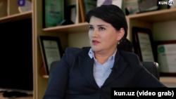 Известная телеведущая «Узбекистан 24»Мавжуда Мирзаева.