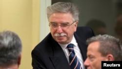 Nikola Šainović u sudnici 23. januara 2014.