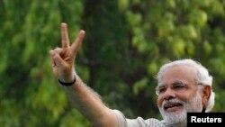 Kryeministri i Indisë, Nerendra Modi