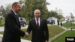 Prezident İlham Əliyev və Vladimir Putin, Həştərxan