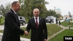 Ռուսաստանի և Ադրբեջանի նախագահների հանդիպումը Աստրախանում, 29-ը սեպտեմբերի, 2014թ․