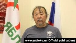 Общественный деятель Павел Суляндзига