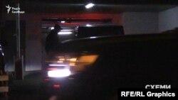 Зняти посадку пасажирів у авто Хорошковського не дозволило авто супроводу