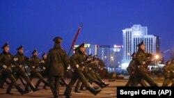 Репетиция парада в Минске