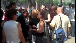 Protest Obrenovčana u Beogradu