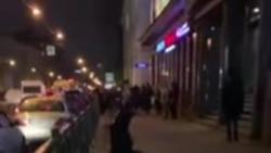 Избиение протестующих в Петербурге