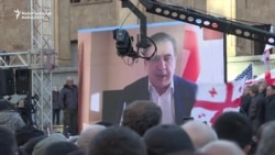 Georgian Opposition Rallies Against Presidential Runoff Result