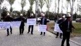 В Бишкеке активисты обратились к Назарбаеву