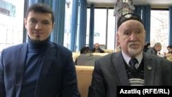 Гаяз Ямбаев (у) һәм Ринат Борханов
