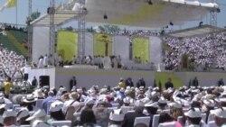 Poruke Pape nakon mise: Mir je Božiji dar