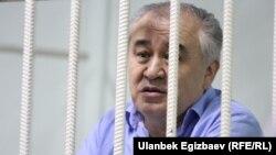 Омурбек Текебаев, Қырғызстандағы оппозициялық саясаткер. Бішкек, 15 тамыз 2017 жыл.