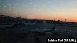 Pe aeroportul din Moscova