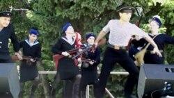 Танцы с оружием: в Севастополе прошел культурно-патриотический фестиваль (видео)