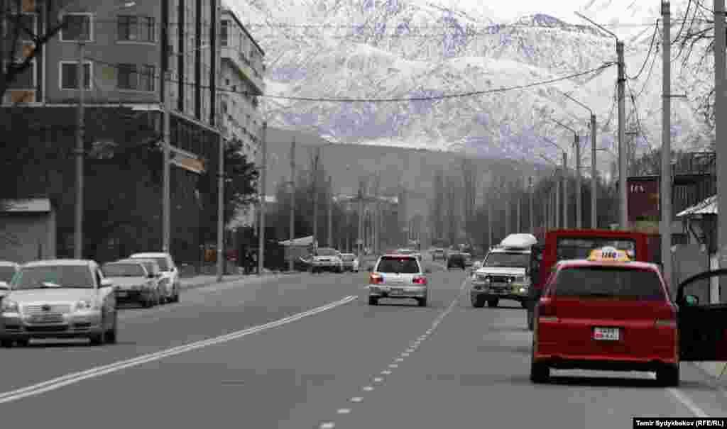 Улица Душанбинская.