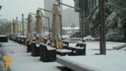 Majski snijeg u Sarajevu