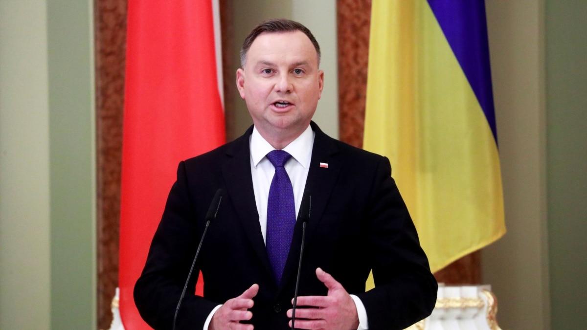 Президент Польши Дуда заболел COVID-19