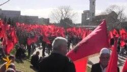 Protest opozicije u Prištini