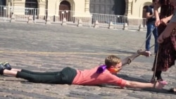 Disabled LGBT Activist Stages Dragging Protest In Red Square