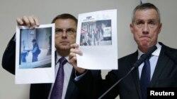 Ֆրանսիացի իրավապահները ցույց են տալիս կրակոցներ արձակած անձի լուսանկարները, 18 նոյեմբերի, 2013