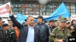 Kurmanbek Bakiyev Oş şəhərində, 15 aprel 2010