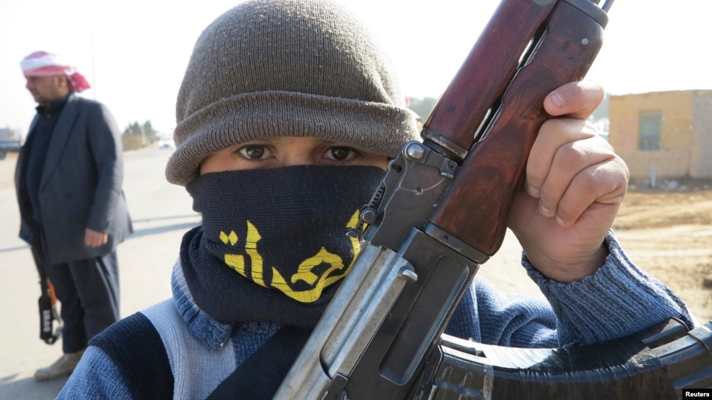 He Has Given Up Playing:' The Child Soldiers Fighting IS In Iraq