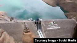 FILE: India has invested in major infrastructure projects such as this dam in the western province of Herat.