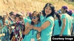 """В Таджикистане стартует Неделя молодежи. Фото: автопробег """"Автопробег """"Дорога Единства"""" 2014 года в Таджикистане"""
