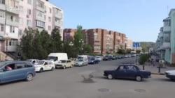 Из-за репетиции военного парада в центри Керчи огромные пробки