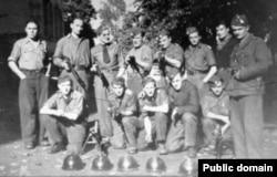 Бойцы отряда Амира Утяшева
