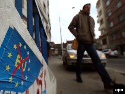 Plakati u Beogradu, 28. februar 2012.