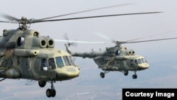 Российские вертолеты Ми-17