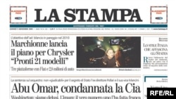 Гуревич тууралуу макала жазган La Stampa гезити