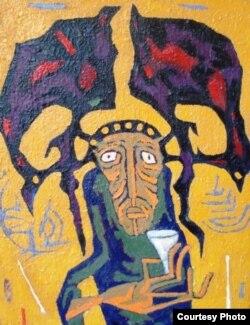 Fərhad Yalquzaq. Qoca şaman
