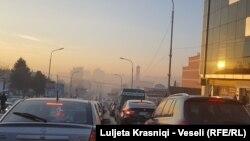 Trafiku në Prishtinë - 2017