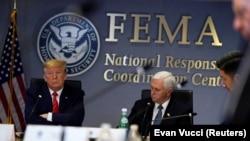 Президент США Дональд Трамп и вице-президент Майк Пенс