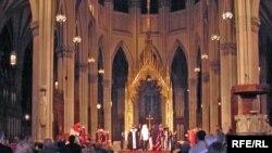 Молебень пам'яті жертв Голодомору, Кафедральний собор Св. Патрика, Нью-Йорк, 15 листопада 2008 року