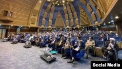 تصویری از نشست نمایندگان حامی محمدباقر قالیباف که روز ششم خرداد برگزار شد.