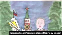 Рисунок 11-летней Изабеллы Кожевниковой