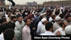 Пакистандын Пешавар шаарындагы митинг.