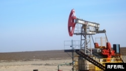 Здабыча нафты ў Казахстане