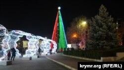 Главная елка Севастополя. 28 декабря 2020 года