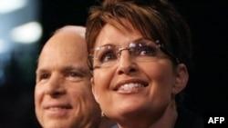 John McCain dhe Sarah Palin