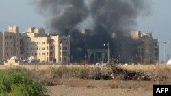 هتل القصر در عدن، در جنوب یمن.
