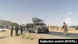 ارشیف، لوګر کې یو شمېر افغان ځواکونه