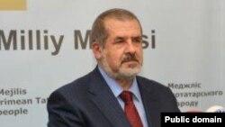 Қырым татарлары мәжілісінің төрағасы Рефат Чубаров.