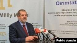 Председатель меджелиса крымско-татарского народа Рефат Чубаров