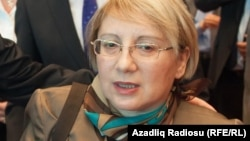 Азербайджанская активистка Лейла Юнус.