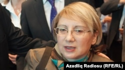 Azerbaijan. Baku. Leyla Yunus, the head of Peace and Democracy İnstitute