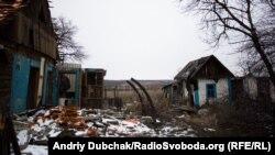 Пошкоджені будівлі внаслідок конфлікту на Донбасі, ілюстративне фото