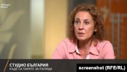 Десислава Христова в Студио България на Свободна Европа